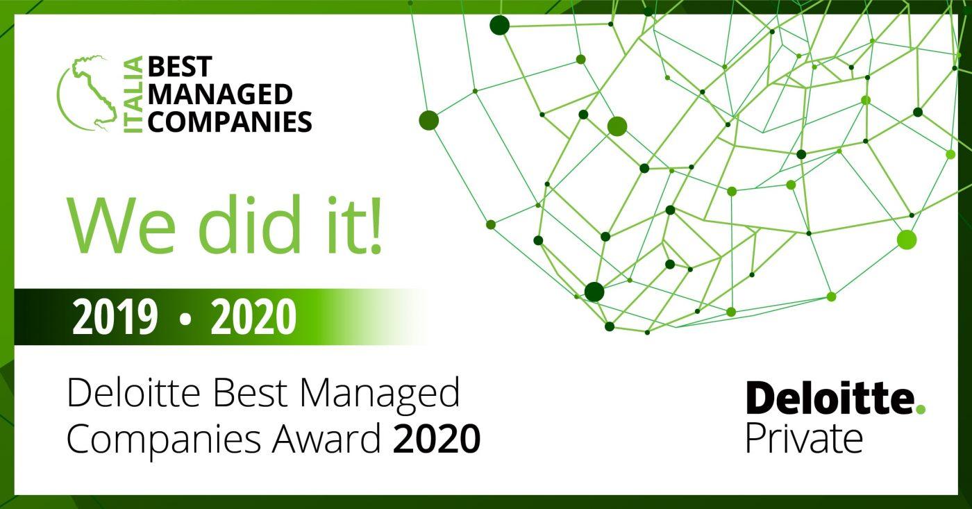 Premio best managed companies 2020